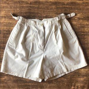 Vintage oversized  high waisted shorts